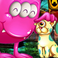 Free online html5 games - G4K Cute Creature Friends Rescue  game