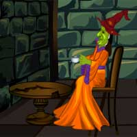 Free online flash games - Green Witch House Escape Games4escape game - WowEscape