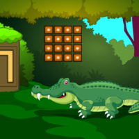 Free online html5 escape games - G2M Crocodile Land Escape