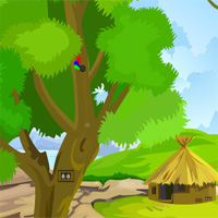 Free online html5 games - Cat Forest Escape GamesZone15  game