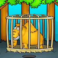 Free online flash games - Elephant Rescue From Cage game - WowEscape