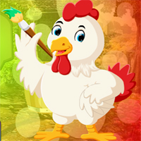 Free online html5 games - Games4King Colorist Hen Escape game