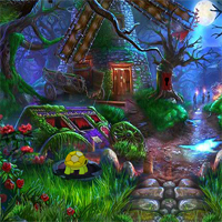 Free online flash games - Fantasy Forest Villa Escape