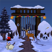 Free online flash games - Games4Escape Reindeer Rescue game - WowEscape