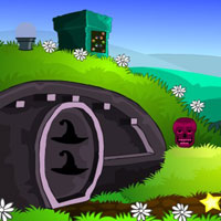 Free online flash games - Top10 Escape From Green Forest