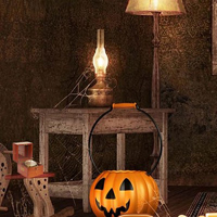 Free online html5 escape games - Scary Pumpkin House
