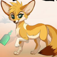 Free online flash games - Games4Escape Fennec fox desert Escape