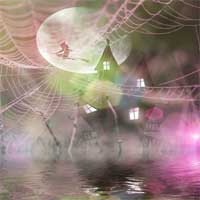 Free online flash games - Halloween House In A Web Puzzle game - WowEscape