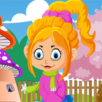 Free online flash games - G4K Pinky Girl Rescue game - WowEscape
