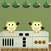 Free online flash games - 8BGames Witch Owl Escape