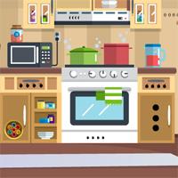 Free online flash games - Kitchen Door Escape 2 game - WowEscape
