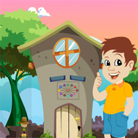 Free online flash games - Cute Boy Escape From Green Garden House game - WowEscape