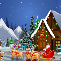 Free online flash games - Knf Santa Claus Christmas Gift Escape game - WowEscape