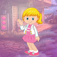 Free online flash games - Games4King Pretty Pinky Girl Escape