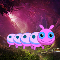 Free online flash games - Fantasy Caterpillar Forest Escape game - WowEscape