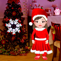 Free online flash games - Games2rule Little Santa Girl Escape