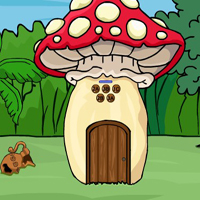 Free online flash games - G2J Mushroom Forest House Escape