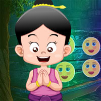 Free online flash games - G4K Traditional Welcome Girl Escape