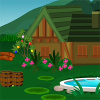 Free online flash games - Wooden House Hen Escape