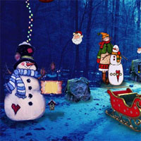 Free online flash games - Top10 Christmas Find The Candy