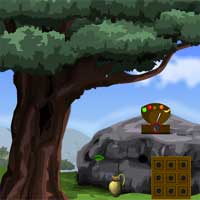 Free online flash games - Games4Escape Angry Turkey Chicks Rescue