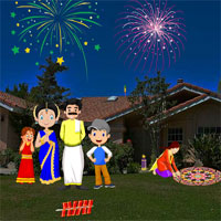 Free online flash games - Escape to Diwali AjazGames
