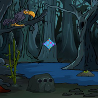 Free online flash games - G4E Halloween Creepy Forest Escape
