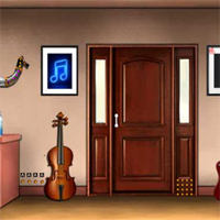 Free online flash games - Mirchi Musician studio Escape