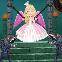 Free online flash games - FirstEscapeGames Magical Forest Fairy Escape game - WowEscape