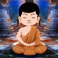 Free online flash games - Games4King Buddhist Monk Rescue game - WowEscape