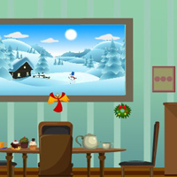 Free online html5 games - G4E Christmas Green Room Escape 2 game