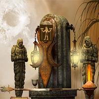 365Escape Scary Temple Escape