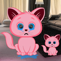 Games2rule Pink Kitty House Escape