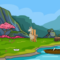 Free online flash games - G4E Cute Alpaca Escape