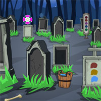 Free online flash games - GFG Scary Graveyard Escape  game - WowEscape