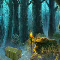 Free online flash games - 8bGames Frog Forest Escape
