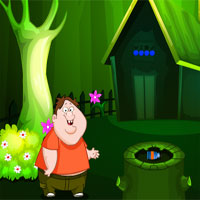 Free online flash games - Mirchi Games Forest Grandma Escape