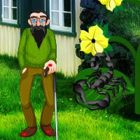 Free online flash games - Wild Scorpion Attack Rescue game - WowEscape