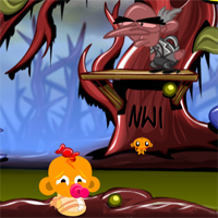 Free online flash games - MonkeyHappy Monkey Go Happy Stage 173 game - WowEscape