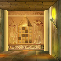 Free online flash games - Pyramid Treasure Escape