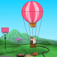 Free online flash games - Love Parachute Escape Games4Escape