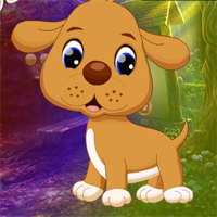 Free online flash games - Games4King Cushy Pup Rescue game - WowEscape
