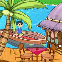 Games2Jolly Little Boy River Escape