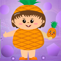 Free online html5 games - Games4King Pineapple Girl Escape game
