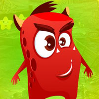 Free online flash games - G4K Spooky Red Creature Escape