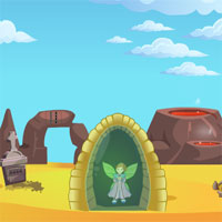 Free online flash games - Cute Fairy Rescue game - WowEscape