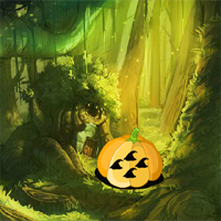Free online flash games - 8B Fantasy Pumpkin Forest Escape