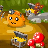 Free online flash games - Puru Puru Digger Gamesgames game - WowEscape