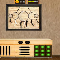 Free online flash games - 8b Wooden House Escape 3