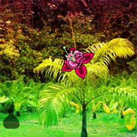 Free online flash games - Big Fantasy Tropical Garden Escape